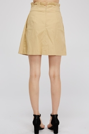 Do & Be Tie Paperbag Skirt - Side cropped