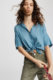 Rag & Bone Tie Shirt - Product Mini Image