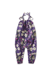 Tea Collection  Tie Shoulder Baby Romper - Sintra Floral - Product Mini Image