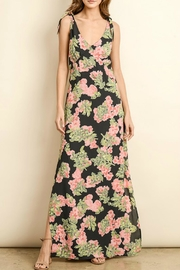 dress forum Tie-Shoulder Printed Maxi - Product Mini Image