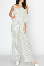 ALB Anchorage Tie-Shoulder-Top And Wide-Leg-Pants - Product Mini Image