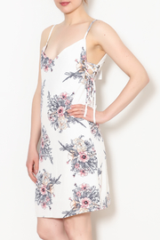 Bishop + Young Tie Side Floral Dress - Product Mini Image