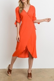 Le Lis Tie Sleeve Dress - Side cropped