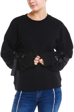 Shoptiques Product: Tie Sleeve Sweater