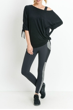 3501adf5acb11 ... Mono B Tie Sleeve Top - Product List Placeholder Image