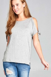 Active Basic Tie Sleeve Top - Product Mini Image