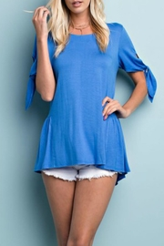 143 Story Tie Sleeve Tunic - Front cropped