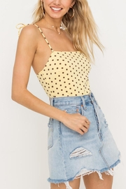 Lush Clothing  Tie Strap Bodysuit - Product Mini Image