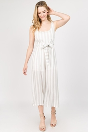 Bio Tie Stripe Jumpsuit - Product Mini Image