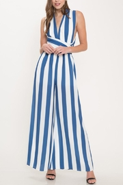 Latiste Tie Stripe Jumpsuit - Product Mini Image