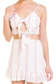 Emory Park Tie Stripe Skirt-Set - Front full body