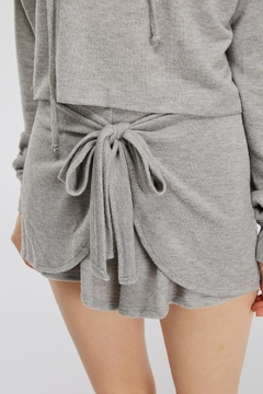 Shoptiques Product: Tie Sweat Shorts