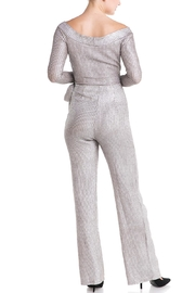 luxxel Tie Sweater Jumpsuit - Side cropped