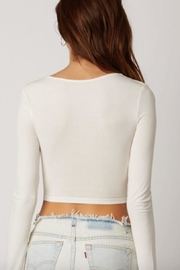 TIMELESS Tie Tier Top - Side cropped