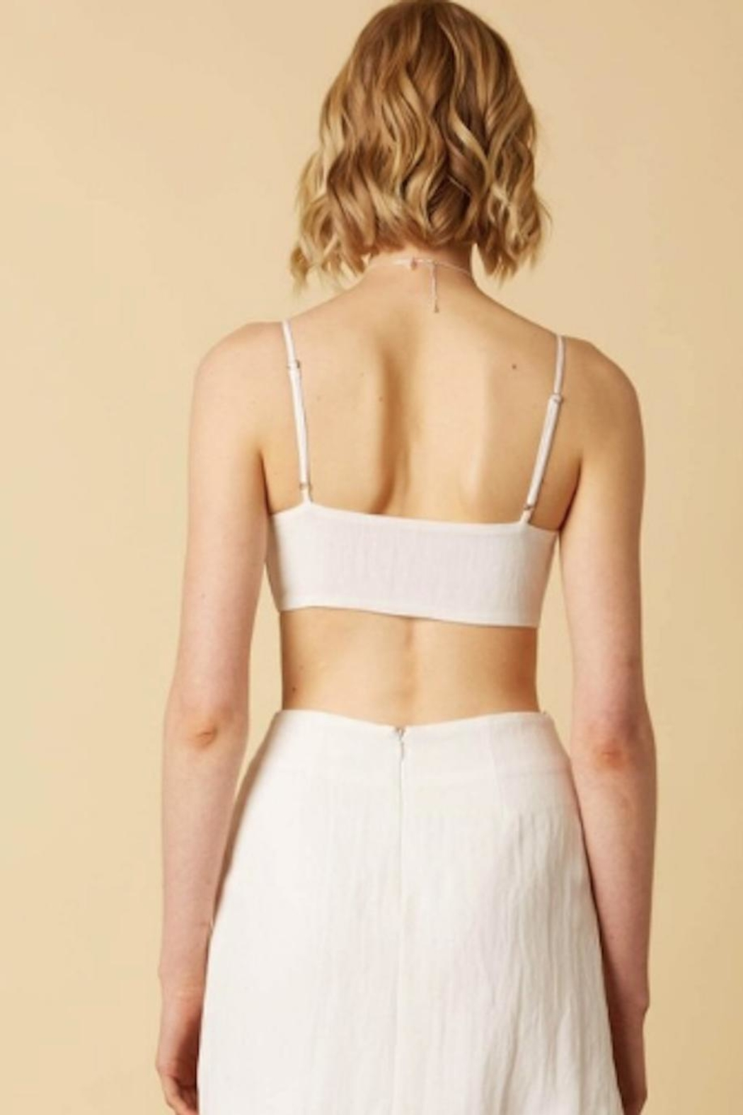 TIMELESS Tie Top - Side Cropped Image