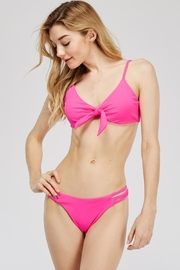 Mad For Love Tie Top Bikini - Front cropped