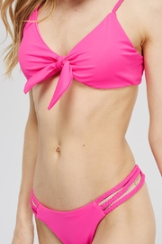 Mad For Love Tie Top Bikini - Back cropped