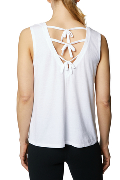 Shoptiques Product: Tie Up Back Swing Muscle Tank
