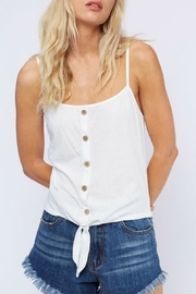 Fantastic Fawn Tie Up Tank - Product Mini Image
