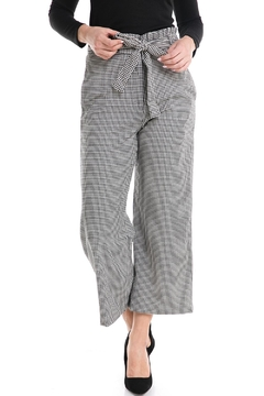 Shoptiques Product: Tie-Waist Checkered Pant