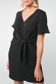 Everly Tie Waist Dress - Product Mini Image