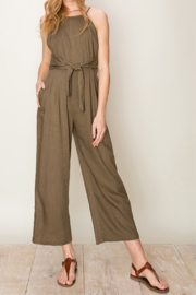 HYFVE Tie Waist Jumpsuit - Product Mini Image