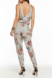 Chaser Tie Waist Jumpsuit - Front full body