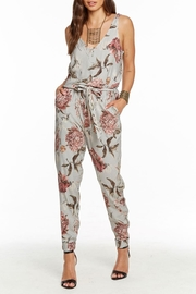 Chaser Tie Waist Jumpsuit - Side cropped
