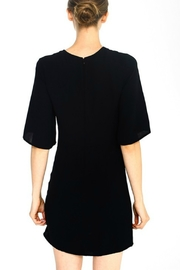 TCEC Tie Waist Shift Dress - Front full body