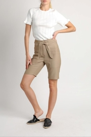 Current Air Tie Waist Shorts - Front cropped