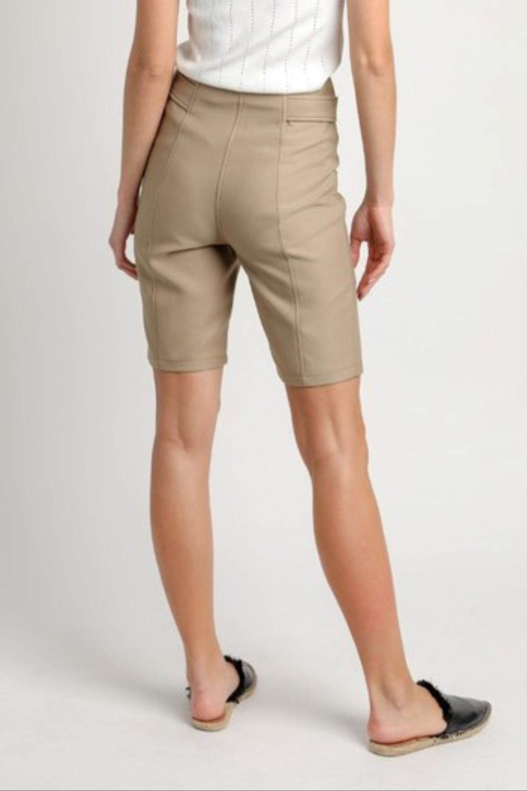Current Air Tie Waist Shorts - Side Cropped Image