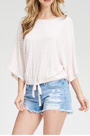 Jolie Tie Waist Top - Product Mini Image