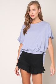 Mustard Seed Tie Waist Top - Front cropped