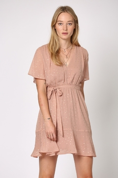 By Together  Tie Wiast Dress - Product List Image