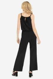 Tribal Tied Halter Jumpsuit - Front full body
