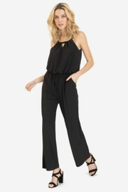 Tribal Tied Halter Jumpsuit - Front cropped