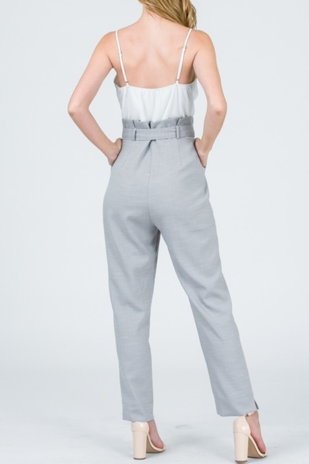 &merci Tied & Tailored Jumpsuit - Front Full Image