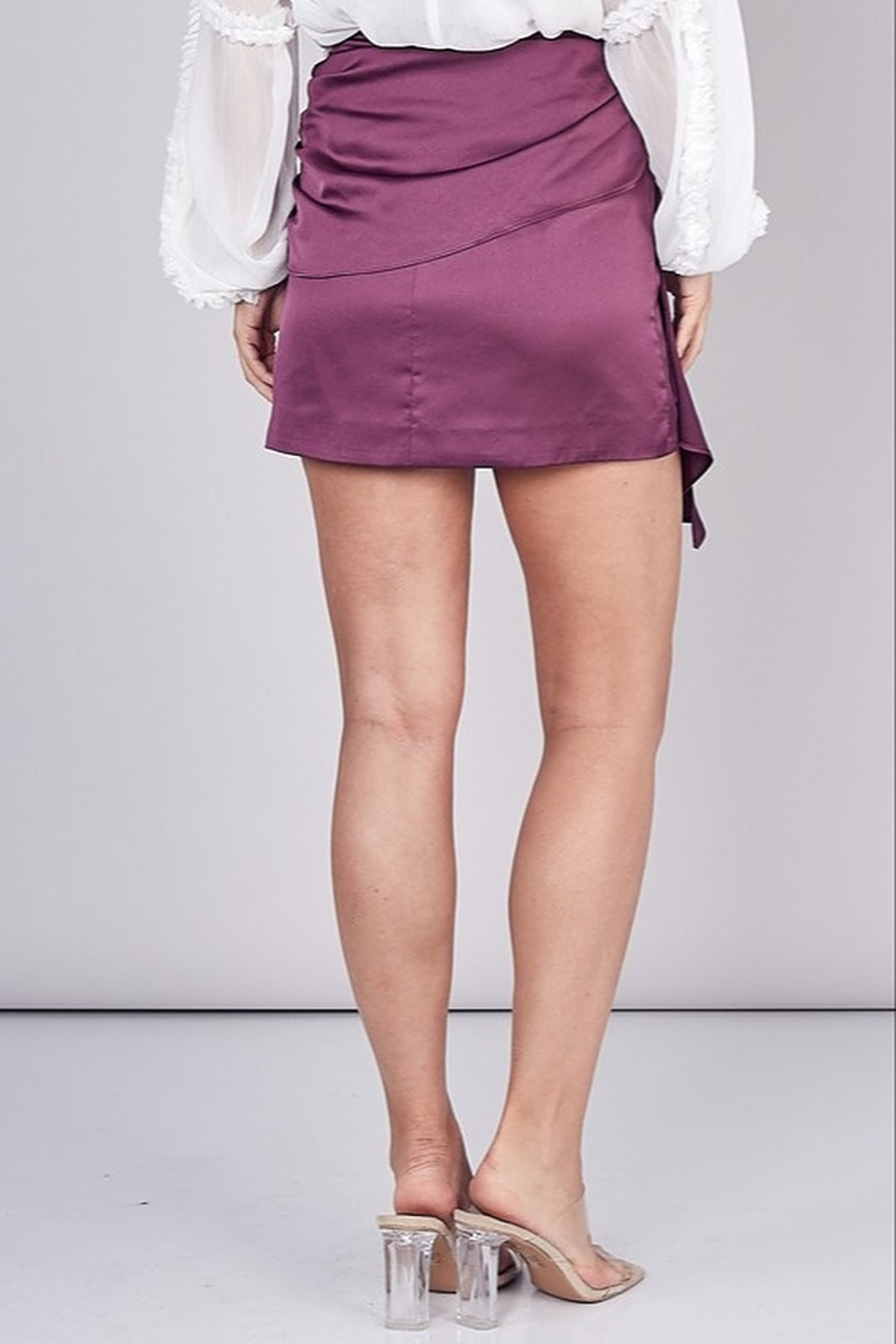 Do & Be Tied Up Skirt - Back Cropped Image