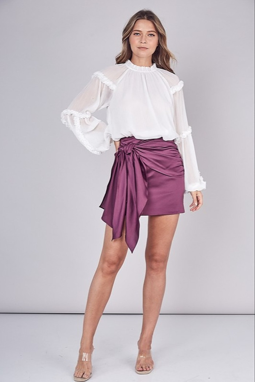 Do & Be Tied Up Skirt - Front Cropped Image