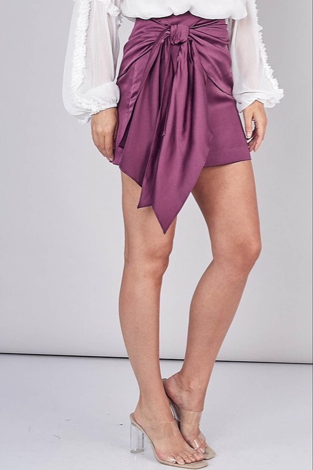 Do & Be Tied Up Skirt - Side Cropped Image