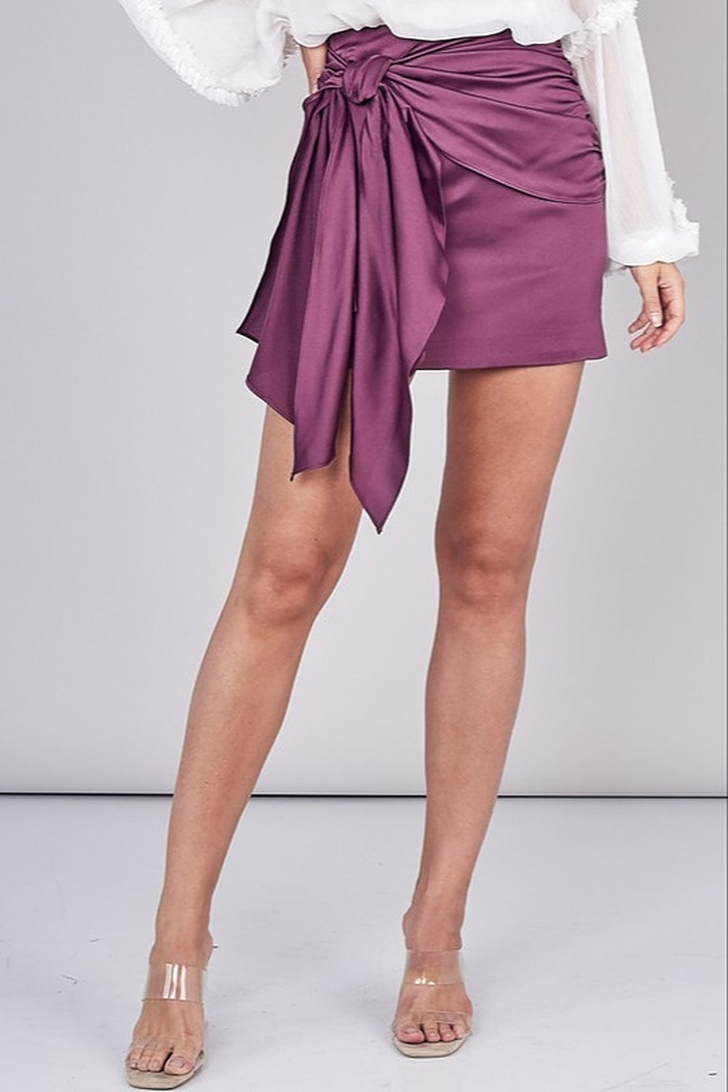 Do & Be Tied Up Skirt - Front Full Image