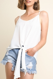 Umgee USA Tied Up Trend top - Product Mini Image
