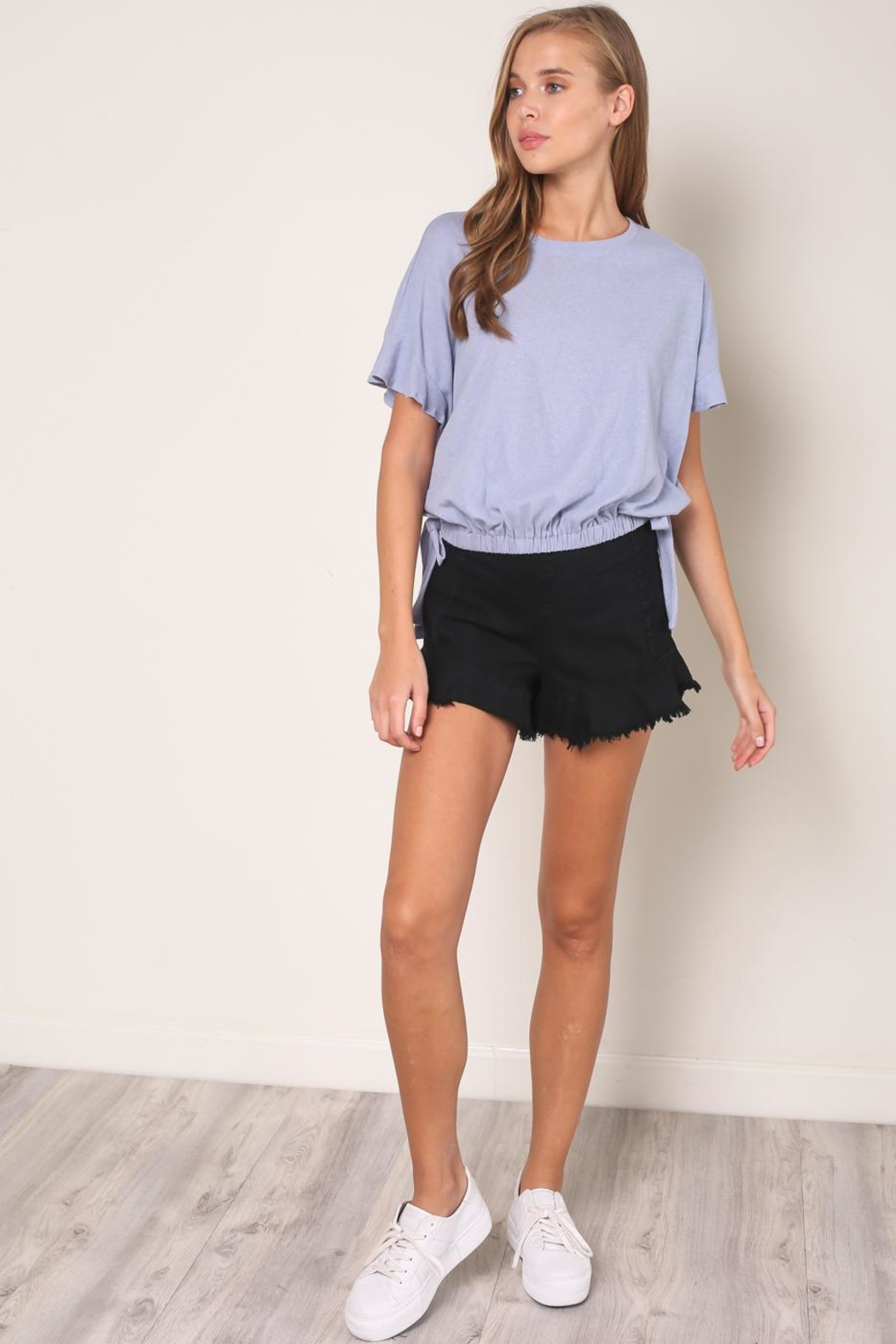 Mustard Seed Tied Waist Tee - Front Cropped Image