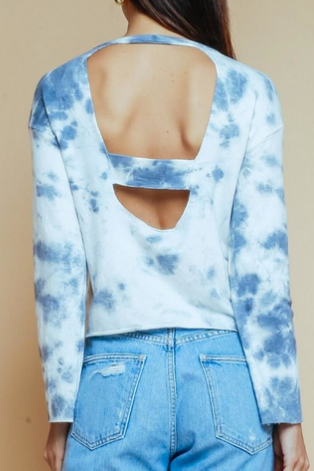 Olivaceous Tiedye Crew Neck - Front Full Image