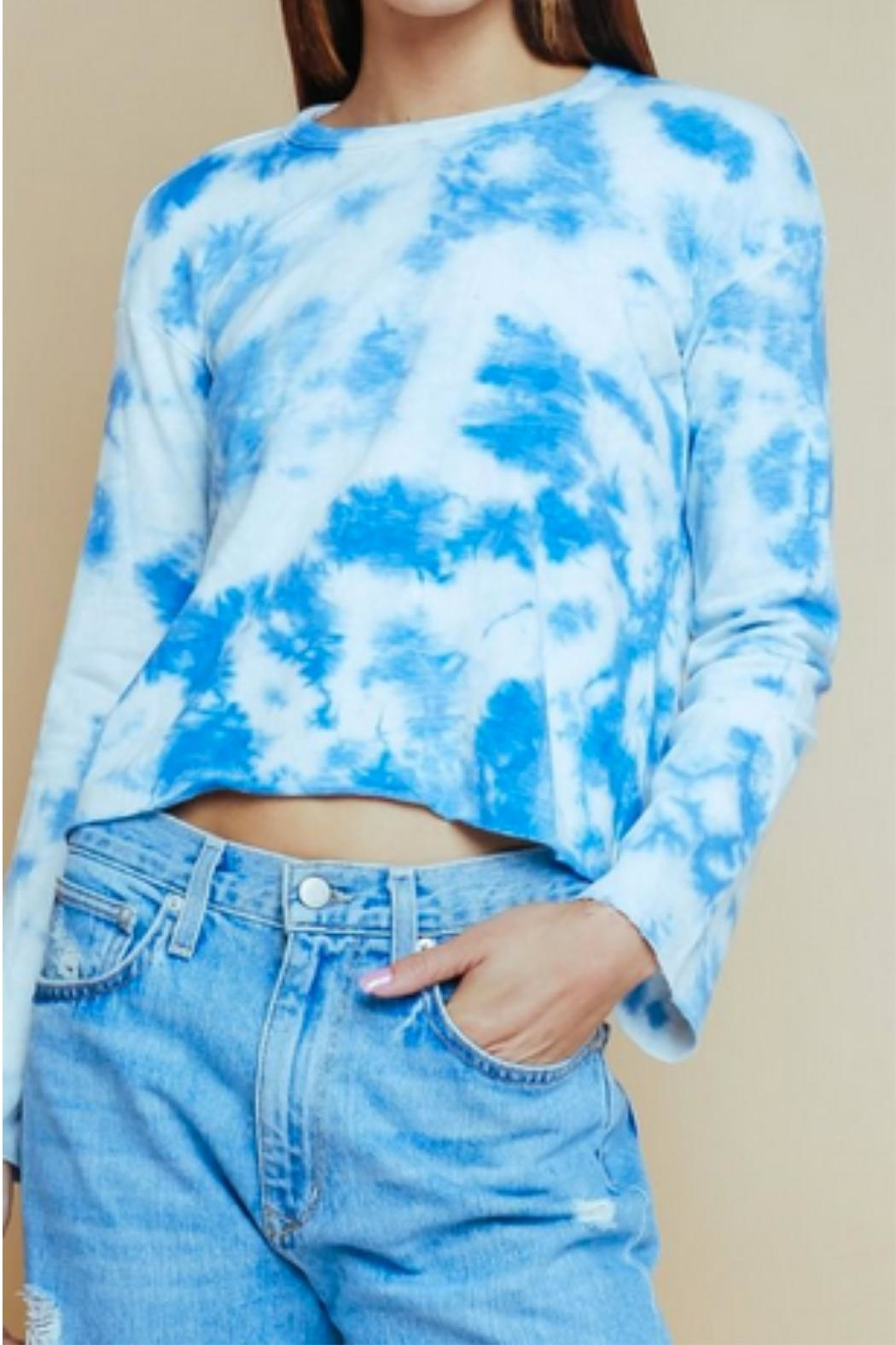 Olivaceous Tiedye Crew Neck - Main Image