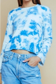 Olivaceous Tiedye Crew Neck - Front cropped