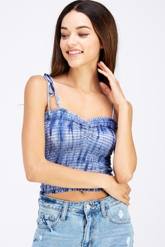 Shoptiques Product: Tiedye Smocked Top