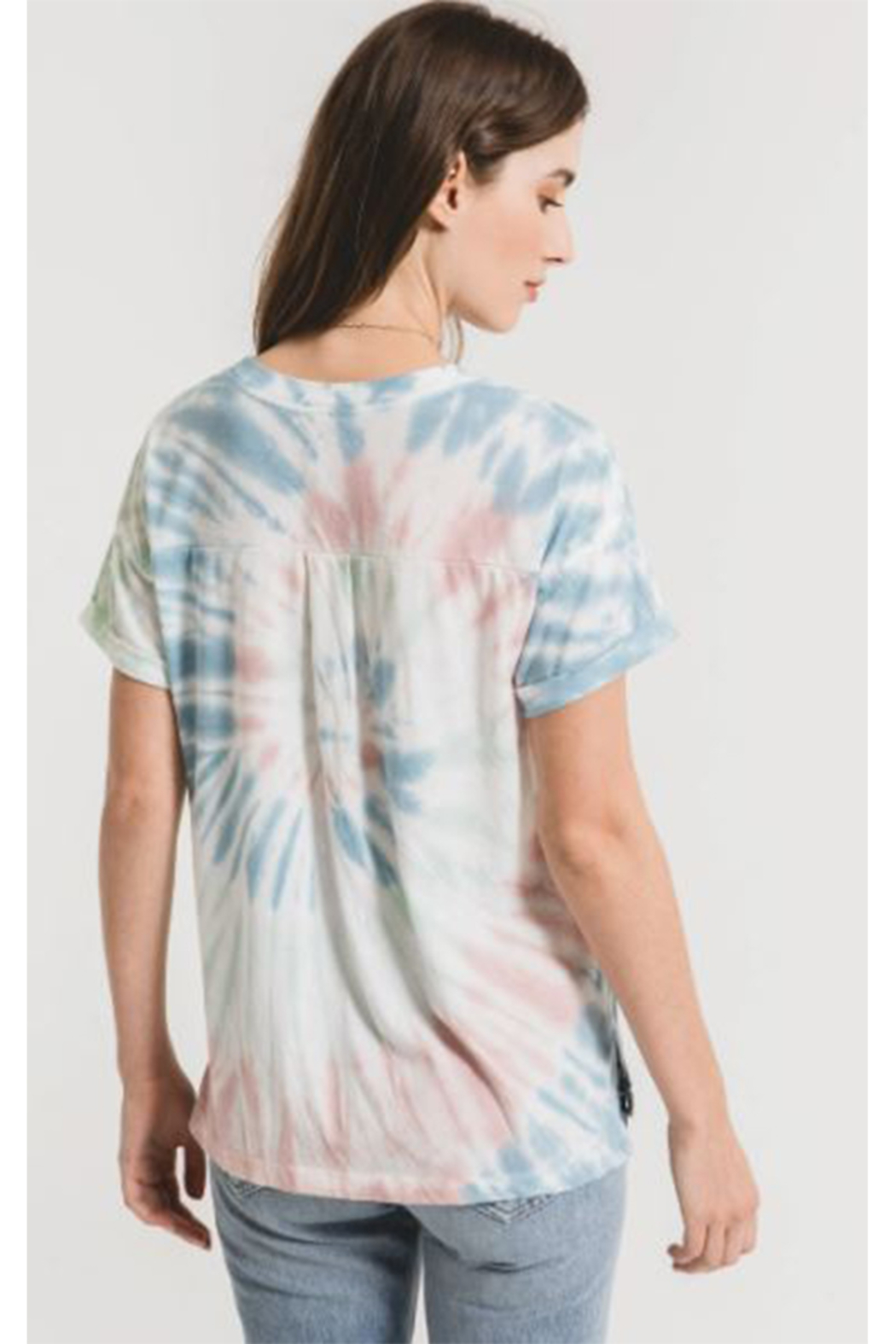 z supply TieDye Tee - Front Full Image