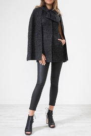 Urban Touch Tieneck Layered Woolcape - Product Mini Image