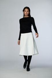 Meli by FAME TIER PONTE SKIRT 23 INCH - Product Mini Image